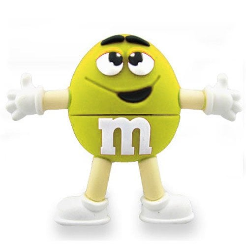 "m&m ""Yellow"" USB Sticks 32GB 207"