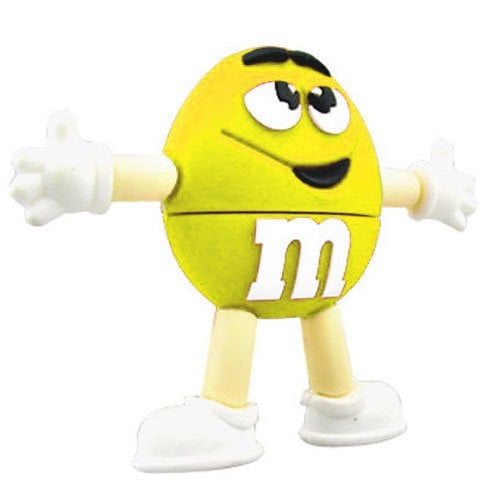 "m&m ""Yellow"" USB Sticks 32GB 208"